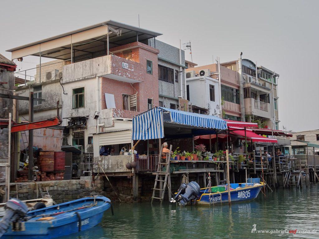 Dorf auf Lantau Island