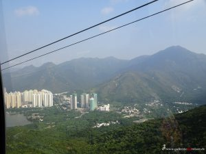 cable car at Lantau Island