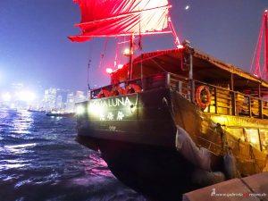 Schiffstour im Hafen von Hongkong