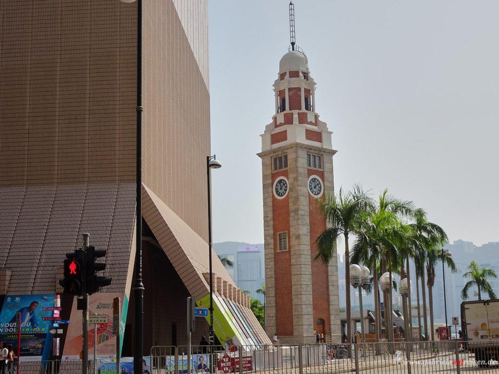 Uhrenturm in Hongkong