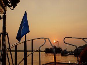 Sonnenuntergang auf Lantau