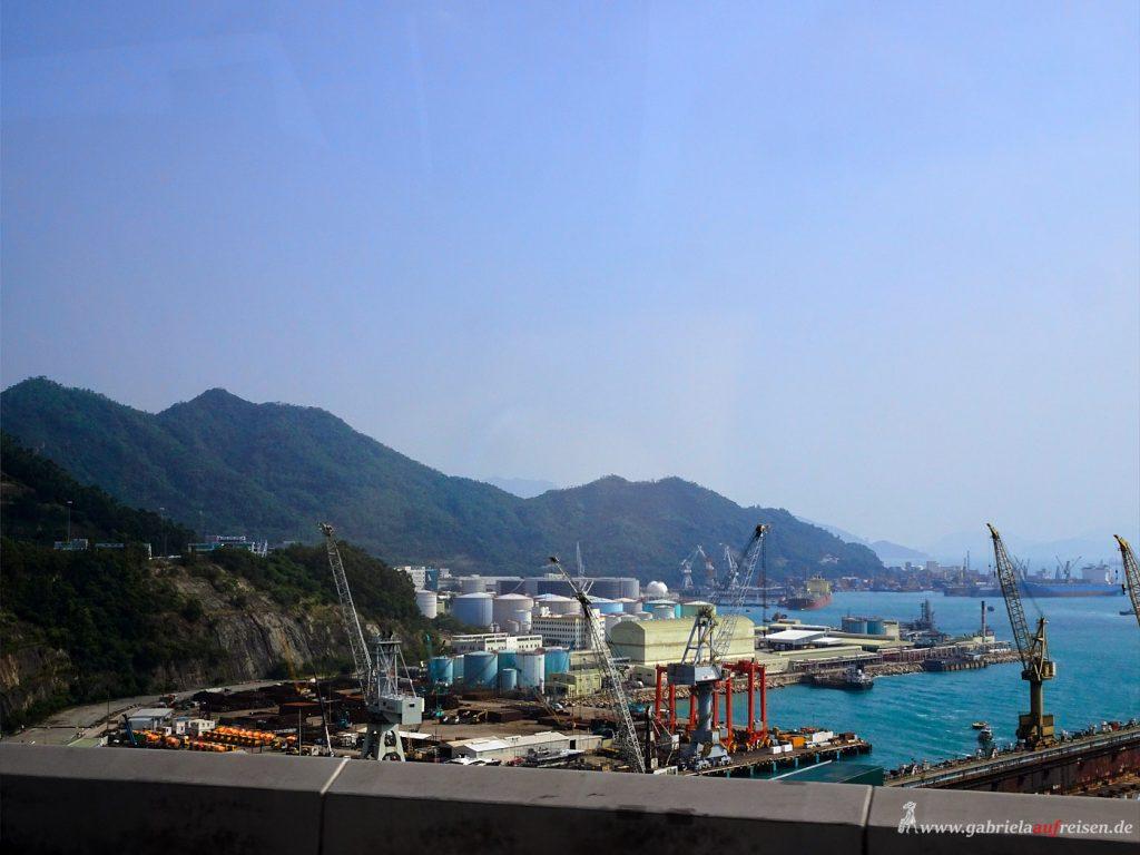 Hafen von Hongkong
