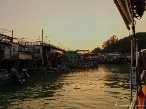 sunset in Lantau