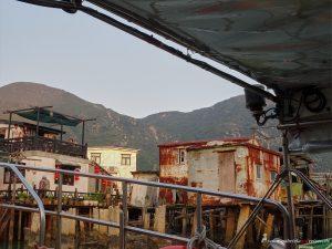 village on Lantau Island