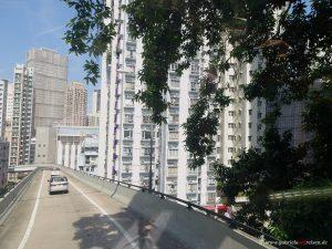 durch die Straßen von Hongkong