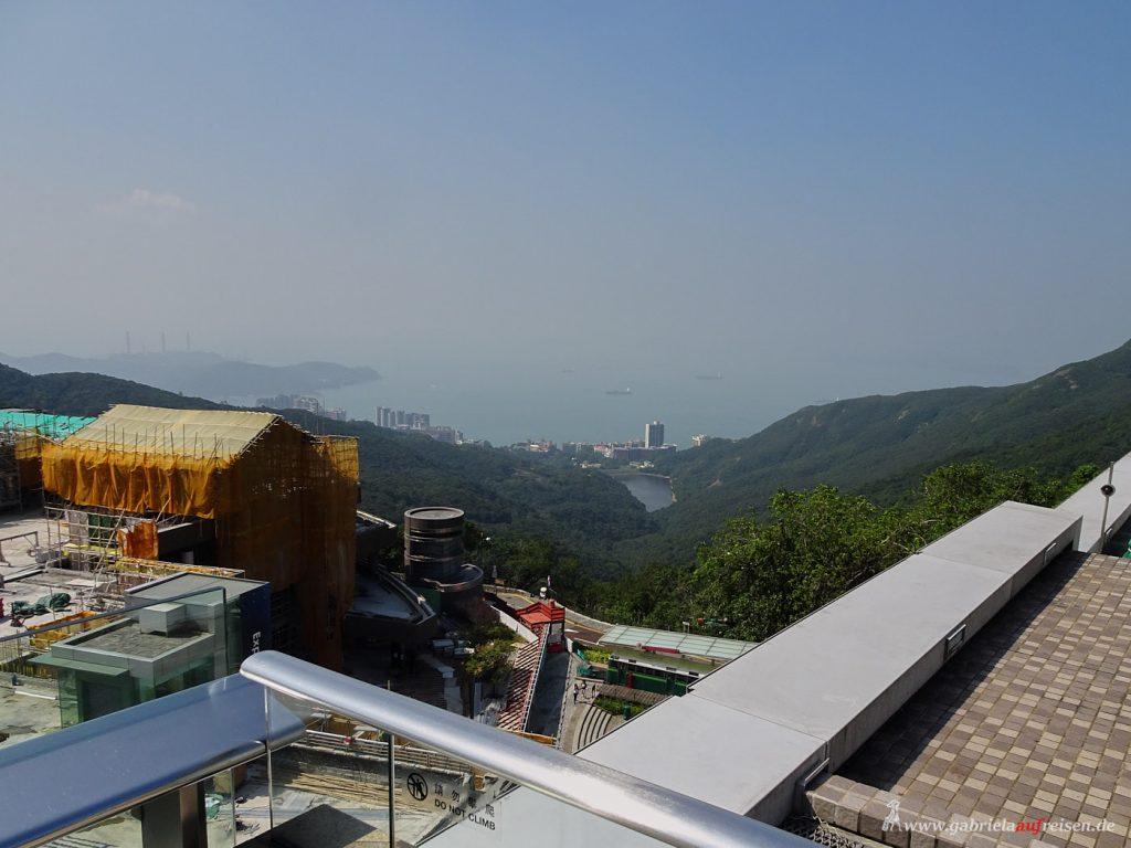 Aberdeen in Hongkong von oben