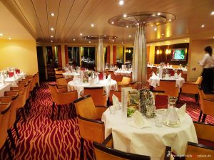 dining area on Arosa Viva
