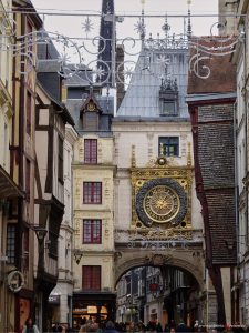 Mondphasenuhr in Rouen