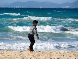 Winter am Strand von Palma
