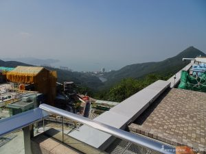 view over Hong Kong Island