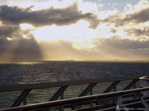 Sonnenuntergang im Beagle Kanal