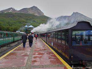 Zug in Feuerland