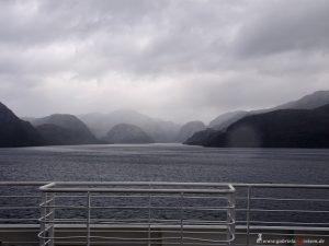 Celebrity Infinity, Chilenische Fjorde