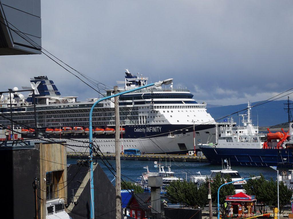 Schiffe in Ushuaia