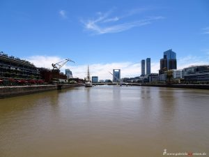 Fluss in Buenos Aires