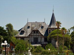 historischen Haus in Montevideo