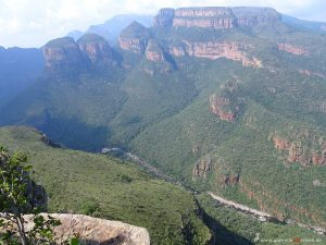 Canyon in Suedafrika