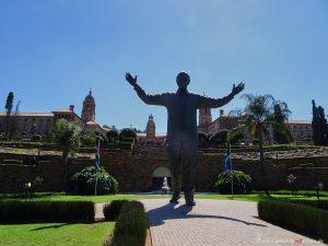 Denkmal von Nelson Mandela