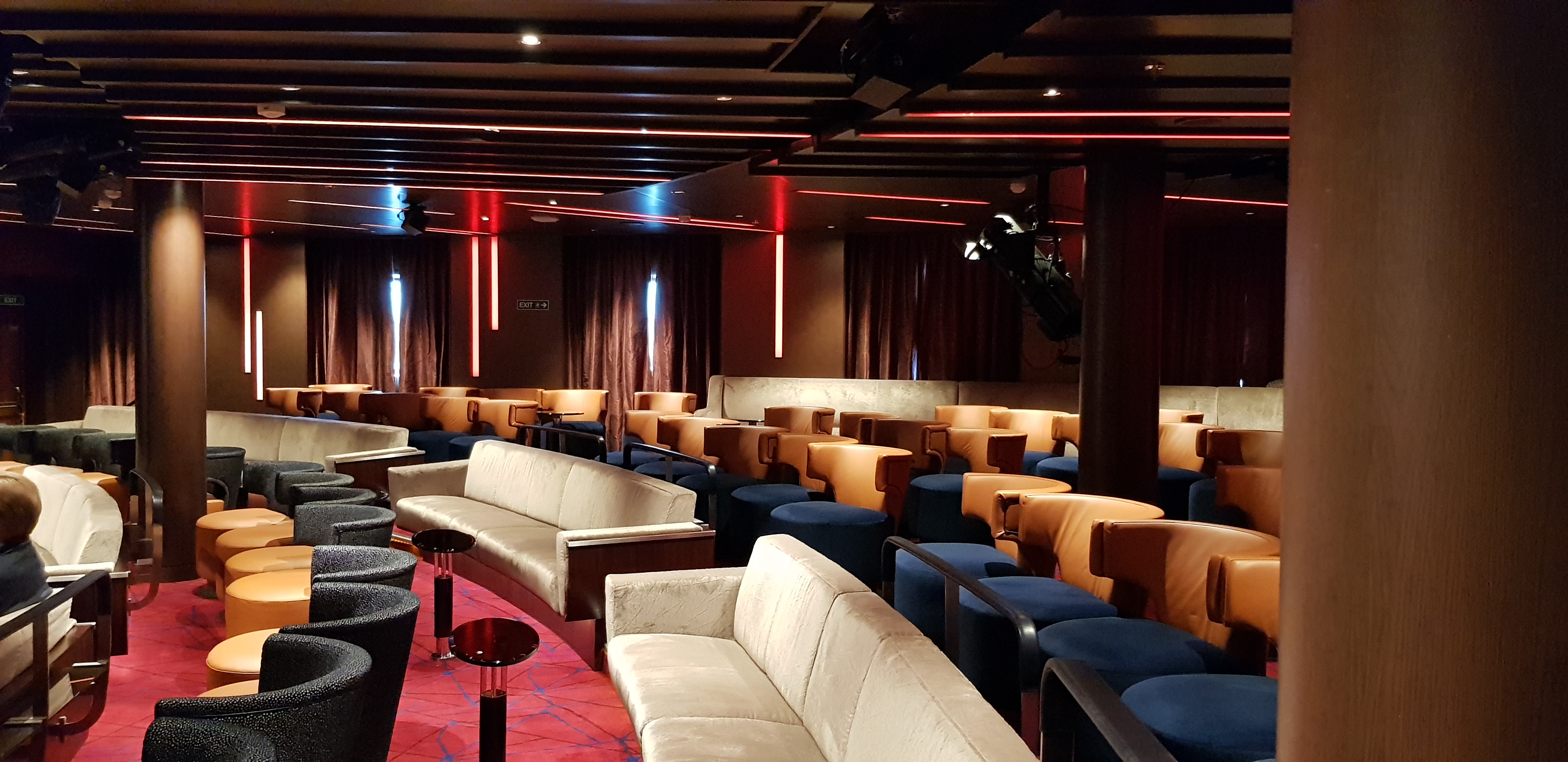 Theater on Seabourn Ovation