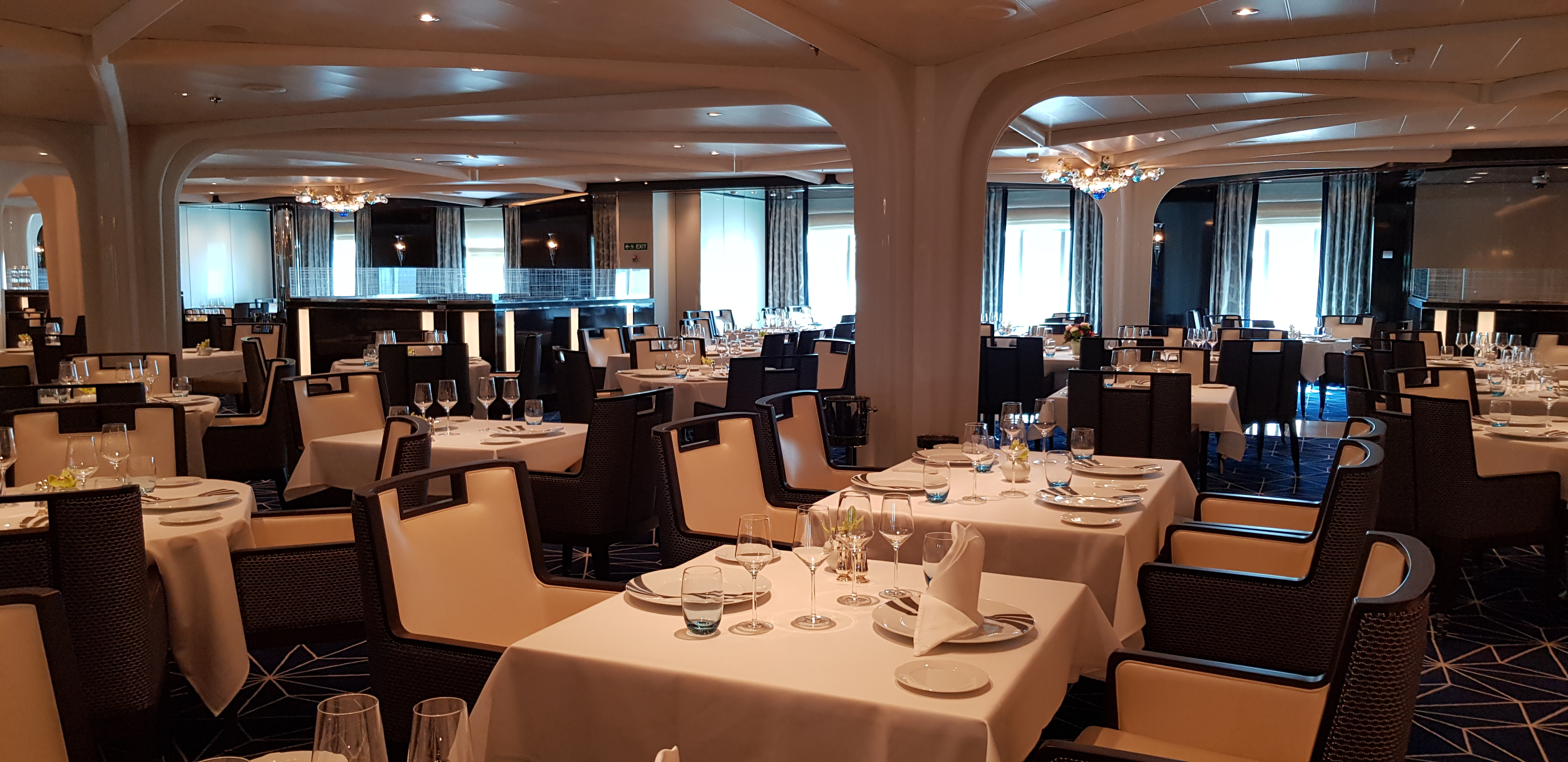 The Restaurant auf Seabourn Ovation