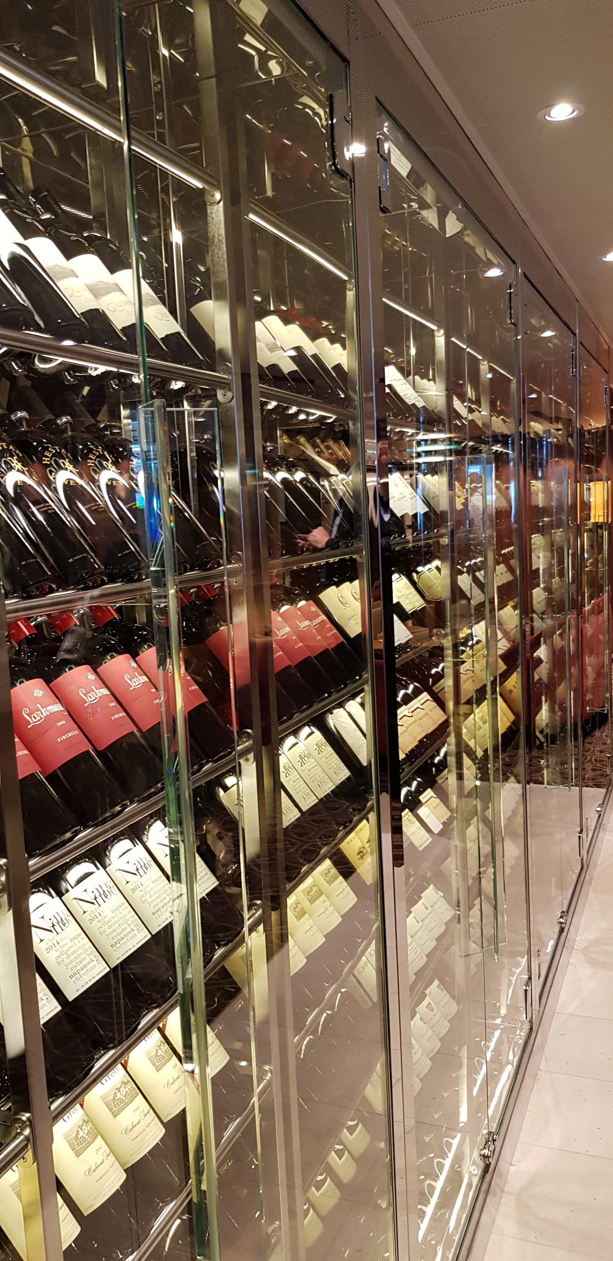 Wein auf der Seabourn Ovation