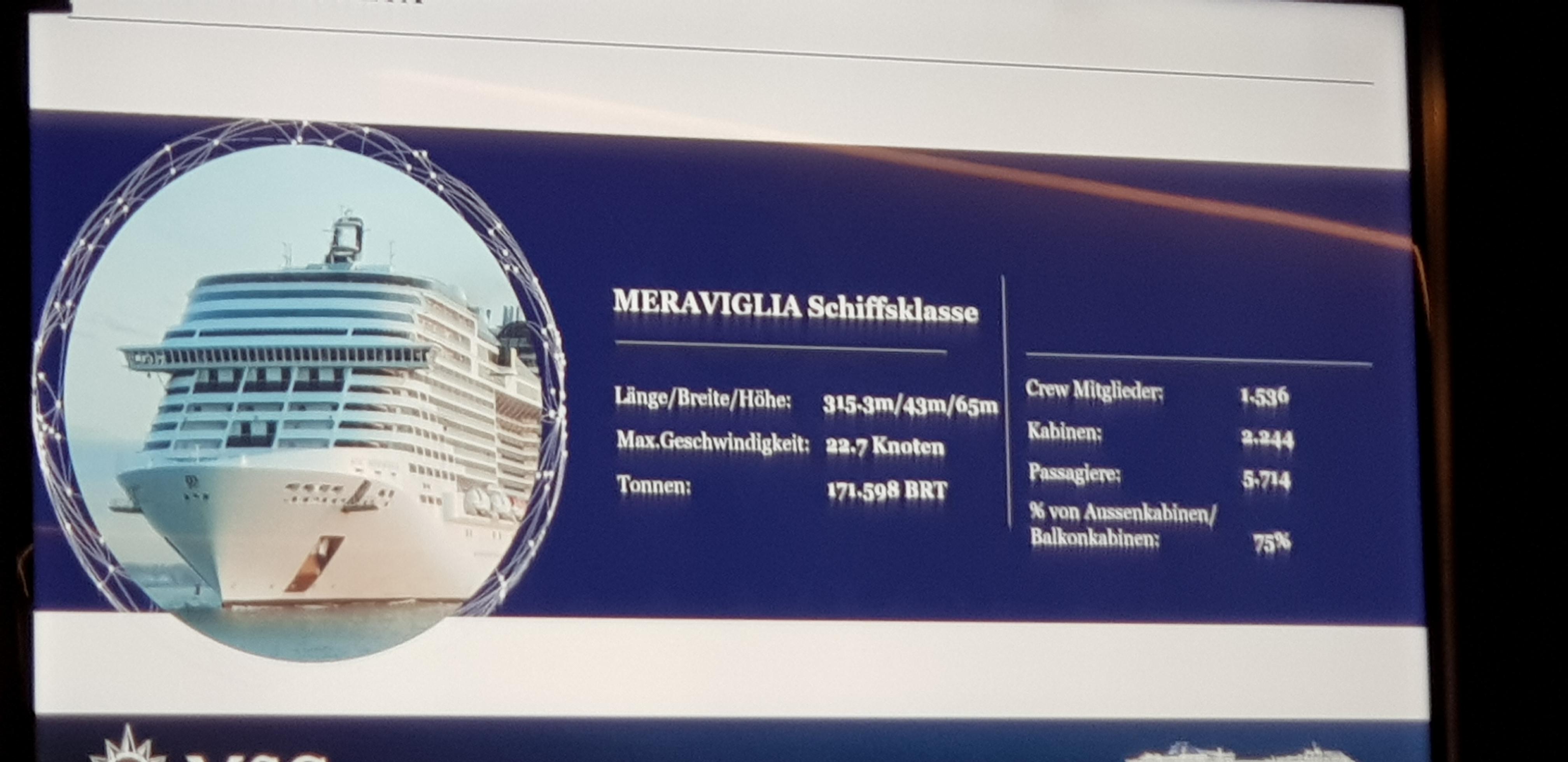 Kabinen MSC Meraviglia