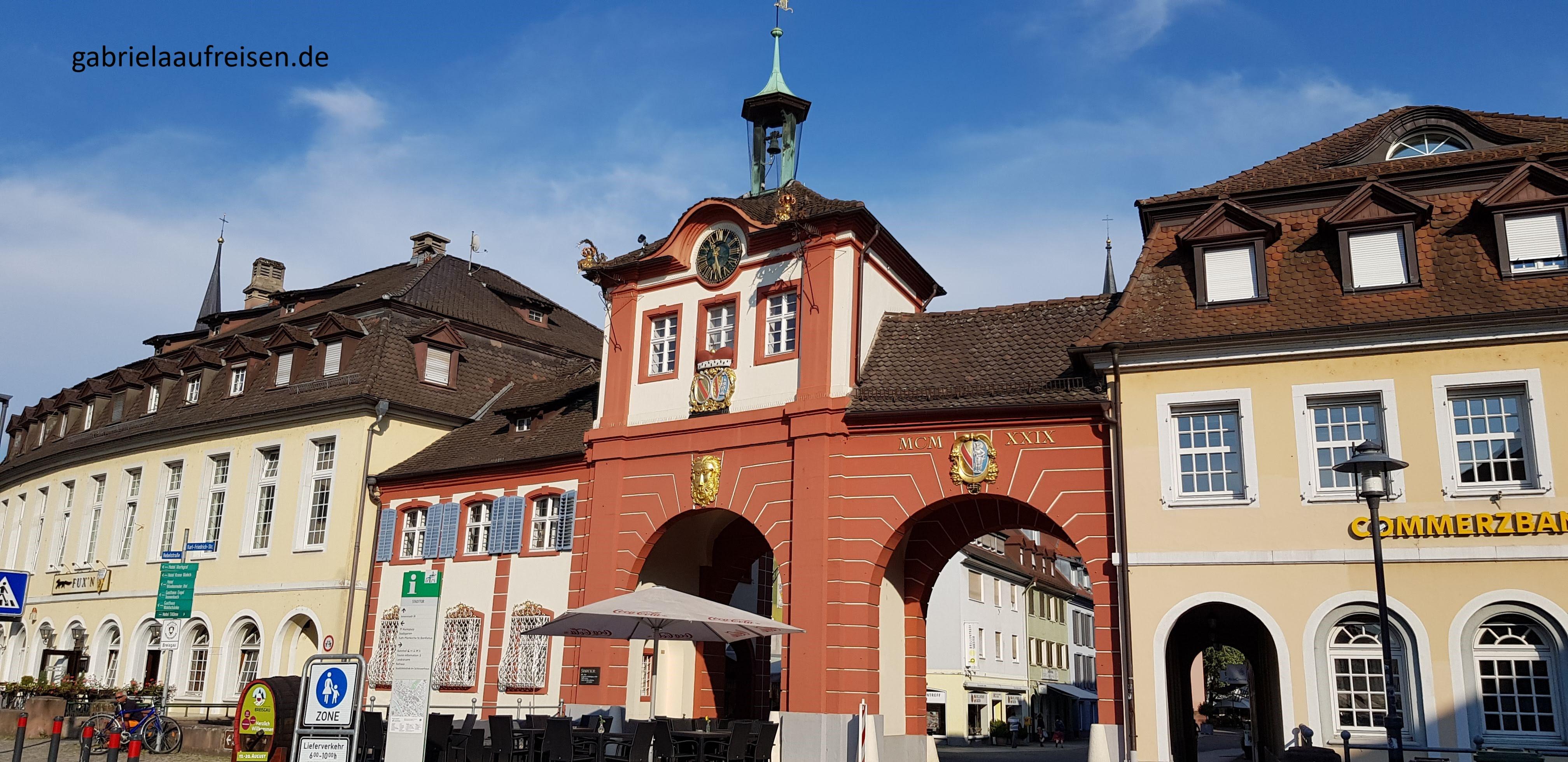 Stadttor im Schwarzwald