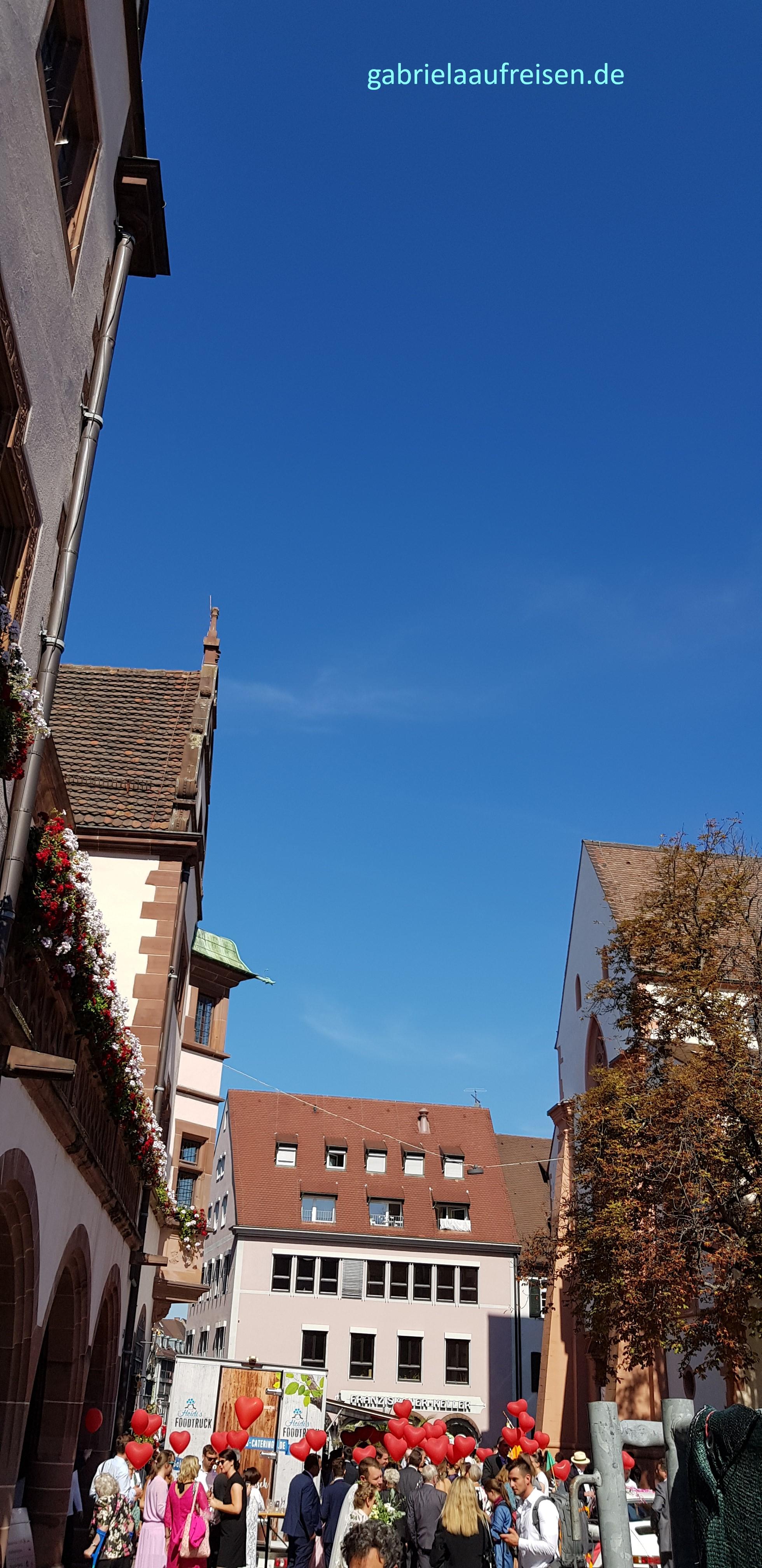Freiburg, Rathausplatz