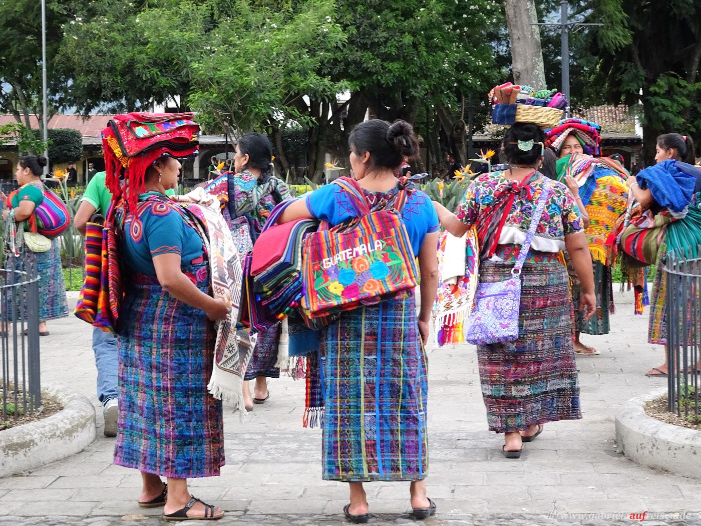 Mayafrauen in Guatemala