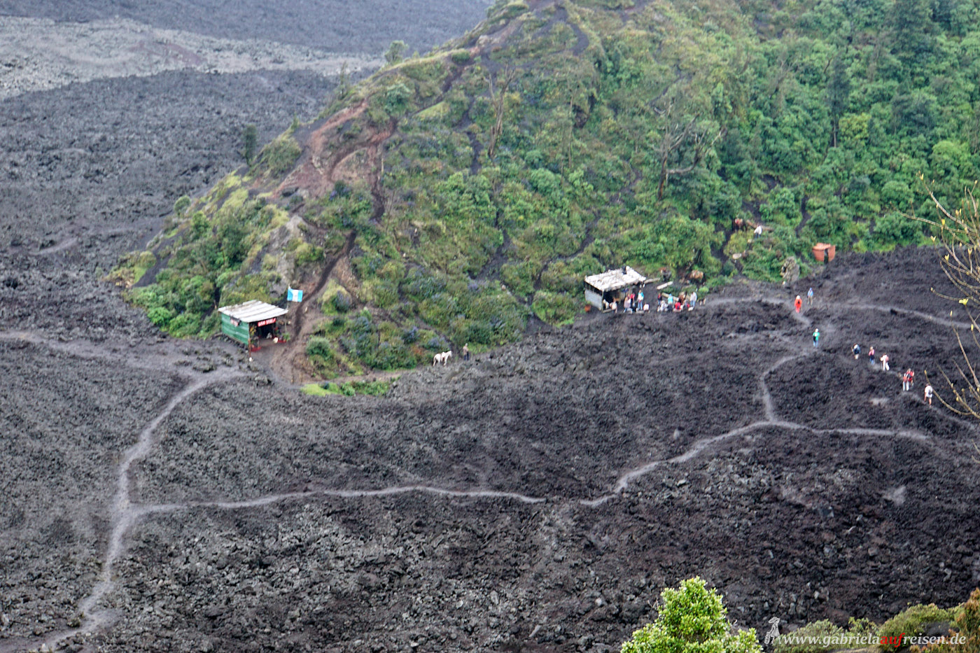 active vulcano Guatemala