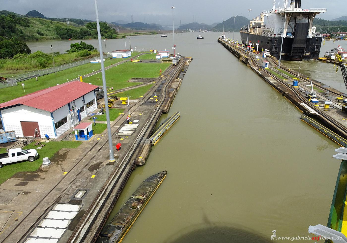 Kreuzfahrt durch den Panama Kanal