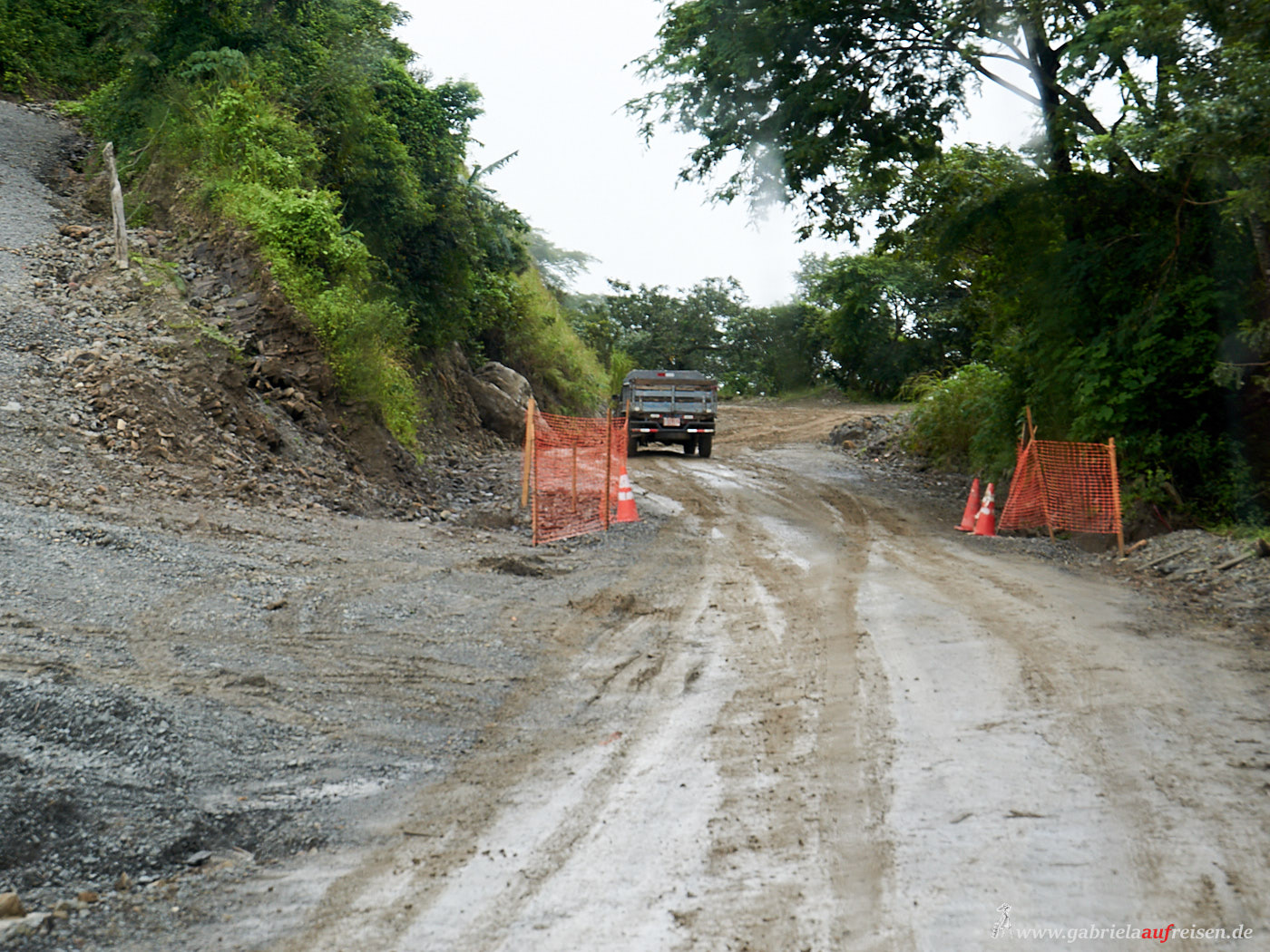 overland streets in Costa Rica