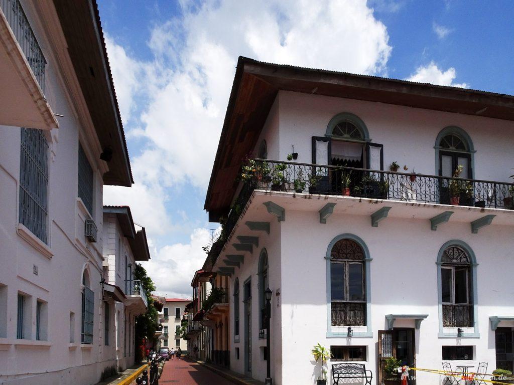 alter Stadtteil von Panama city