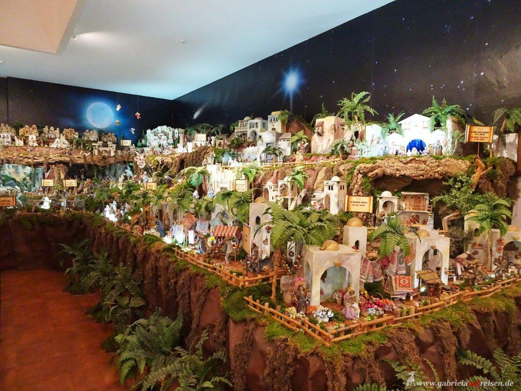 Weihnachtsdekoration in Panama