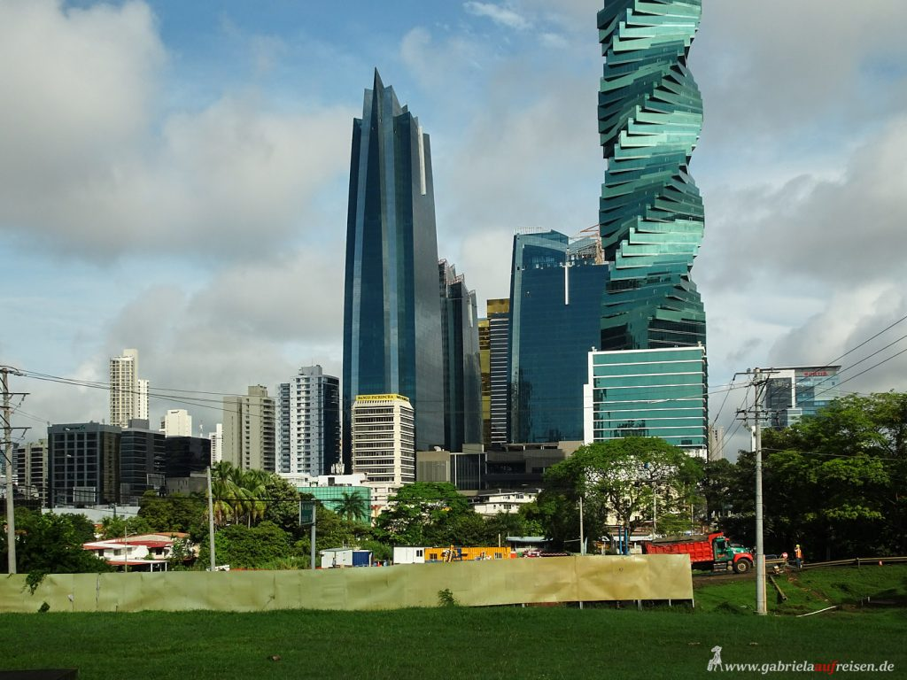 skyscrapers in Panama