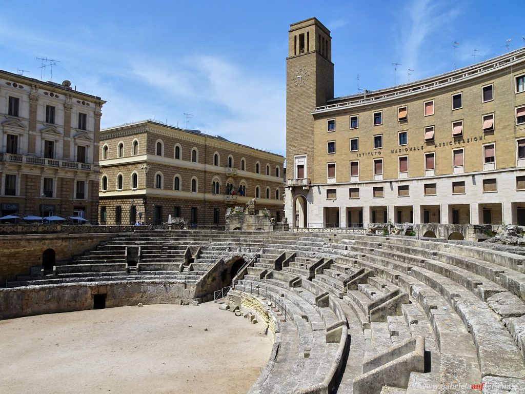 roemisches Theater in Lecce