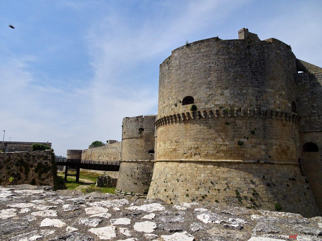 Apulien, Stadtbefestigung