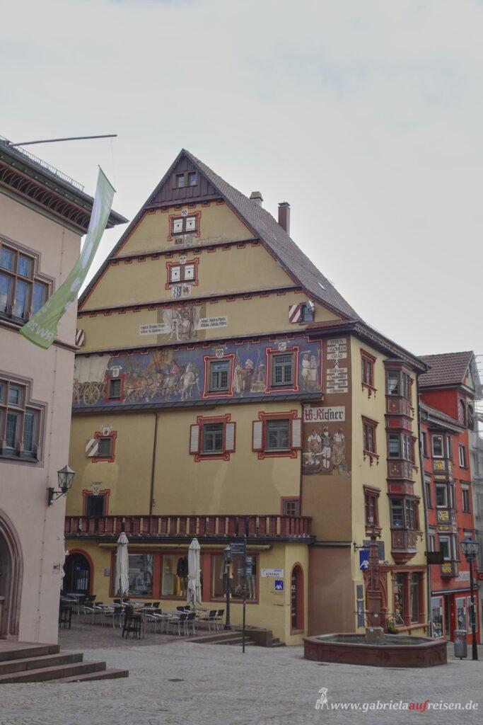 historisches Haus in Rottweil
